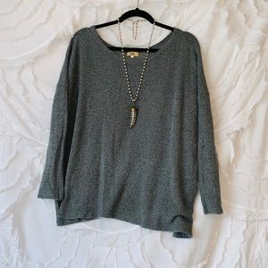 flowy piko sweater!